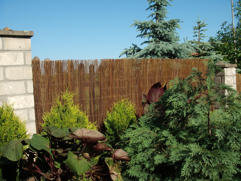 Weidenmatte Sichtschutz Weidenzaun Garten Matte Roll Zaun Weide