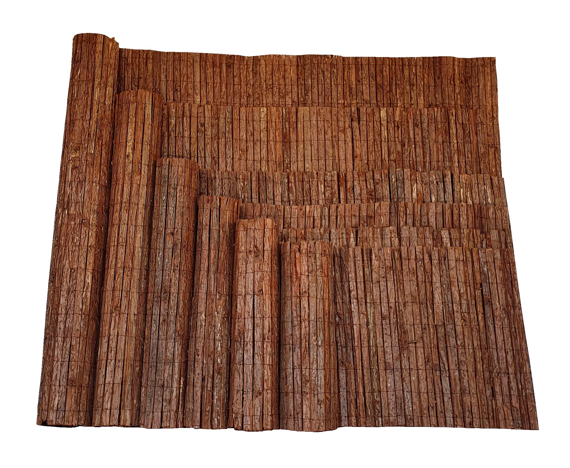 Rindenmatte Stabiler Sichtschutz Aus Baumrinde Nature Lounge24 De