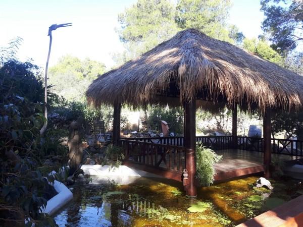 Schilfgrasdach 150 x 80 cm - Dachschindel aus Seegras Reeddach Natürliche Bedachung