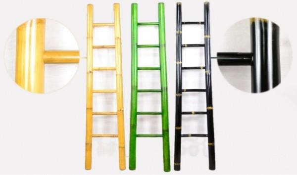 Bambusleiter Natur 200 cm - in verschiedenen Farben