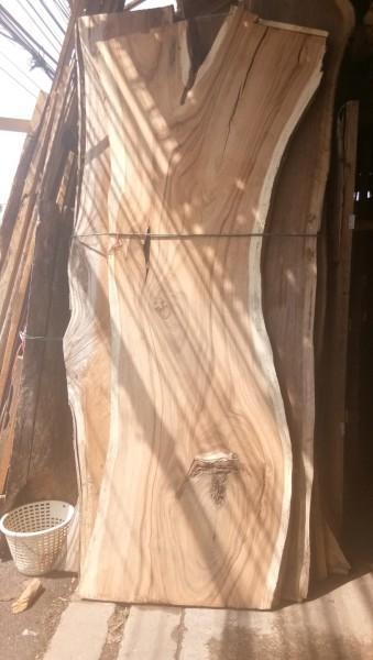 Holzplatte aus Regenbaum Holz - Tischplatte Küchenplatte Holzbohlen Epoxy Harz Tischplatte zum selbe