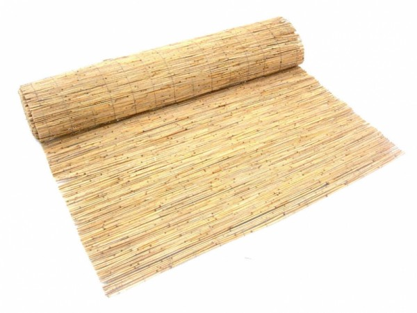 Schilfrohrmatten - Sichtschutzmatte Schilfrohr Sichtschutz Schilfgras Zaun Naturmatte Reed