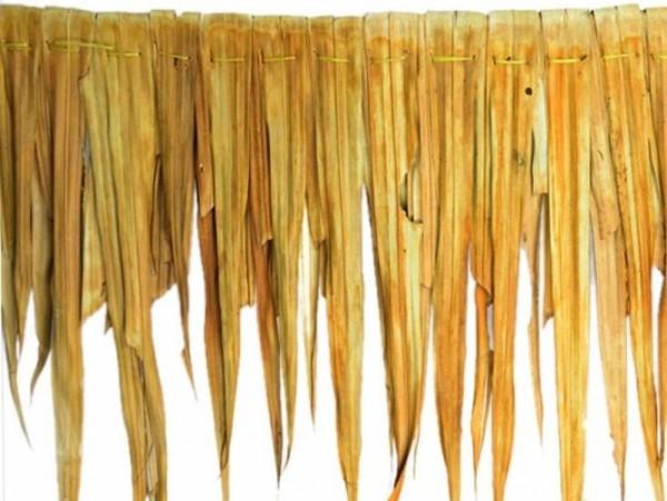 Palmendach 120 x 60 cm - Natürliche Dachschindel aus Palmenblätter