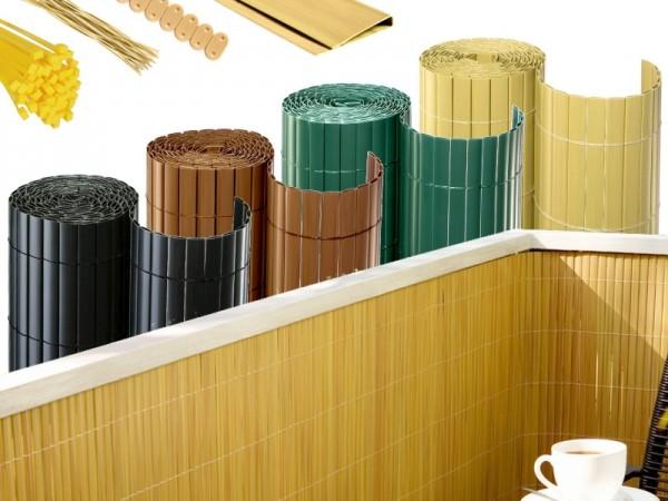 PVC Sichtschutzmatten - Wind & Sichtschutz für Garten und Balkon