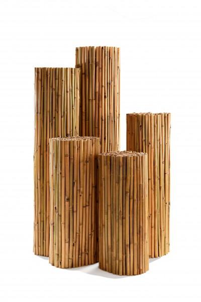 Bambuszaun - Rollzaun aus Bambusrohre