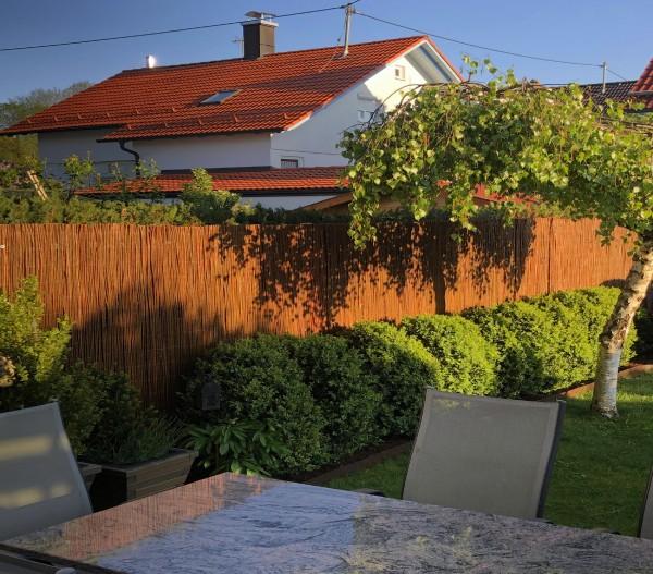 Weidenmatte - Sichtschutzmatte für Zäune & Balkongeländer