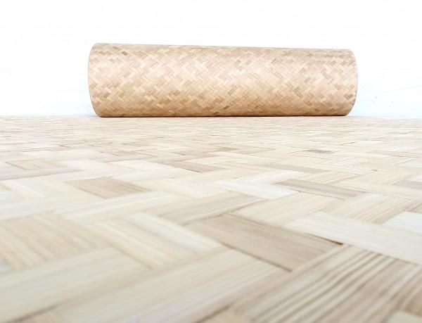 Bambus Flechtmatte 240 x 120 cm - Flexibel und stabile Bambusmatte
