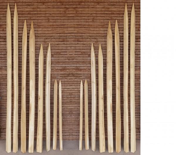Gespaltener Robinienpfosten - Holzpfosten Akazie Wein Reebstock Pfahl Holz Pfosten