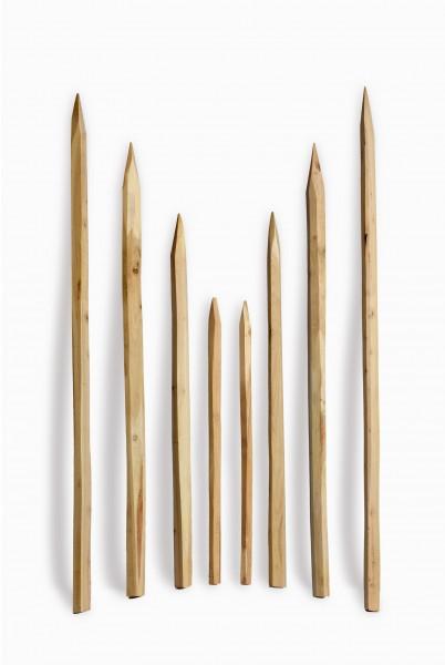 Gespaltener Robinienpfosten - Holzpfosten Akazie Wein Reebstock Holz Pfosten